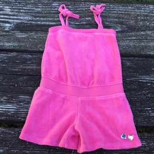 Gymboree Girls Pink Beach Cover Up One Piece 4